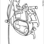 דף צביעה הליקופטר של סמי הכבאי