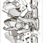 דפי צביעה של ספיידרמן