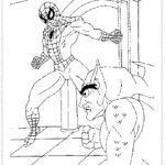 דף צביעה ספיידרמן
