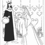 דפי צביעה נסיכות דיסני
