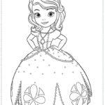 הנסיכה סופיה הראשונה דפי צביעה