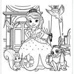 הנסיכה סופיה הראשונה צביעה