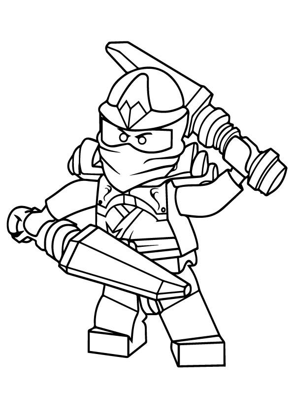 ninjago coloring pages free printable a4 עולם הילדים