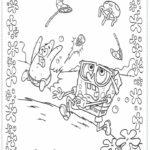 דפי צביעה של בובספוג