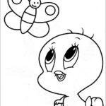 טוויטי תינוק לצביעה
