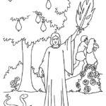 דפי צביעה עץ הדעת