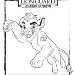 דפי צביעה מלך האריות