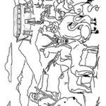 דפי צביעה נוח והחיות