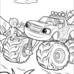 בלייז ומכוניות הענק לצביעה