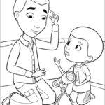 דוק רופאת צעצועים לצביעה