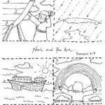 דפי צביעה תיבת נוח