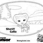 דפי צביעה השריף קאלי במערב הפרוע