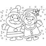 דפי צביעה חג כריסמס