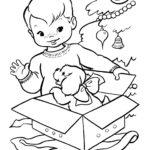 דפי צביעה חג המולד