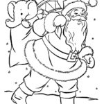 דפי צביעה סנטה קלאוס