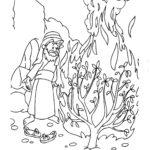 דפי צביעה משה רבנו