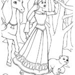 דפי צביעה ברבי נסיכה