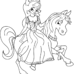 דפי צביעה של נסיכות