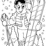 דפי צביעה סקי