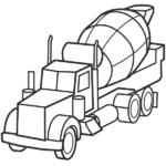 צביעה משאית